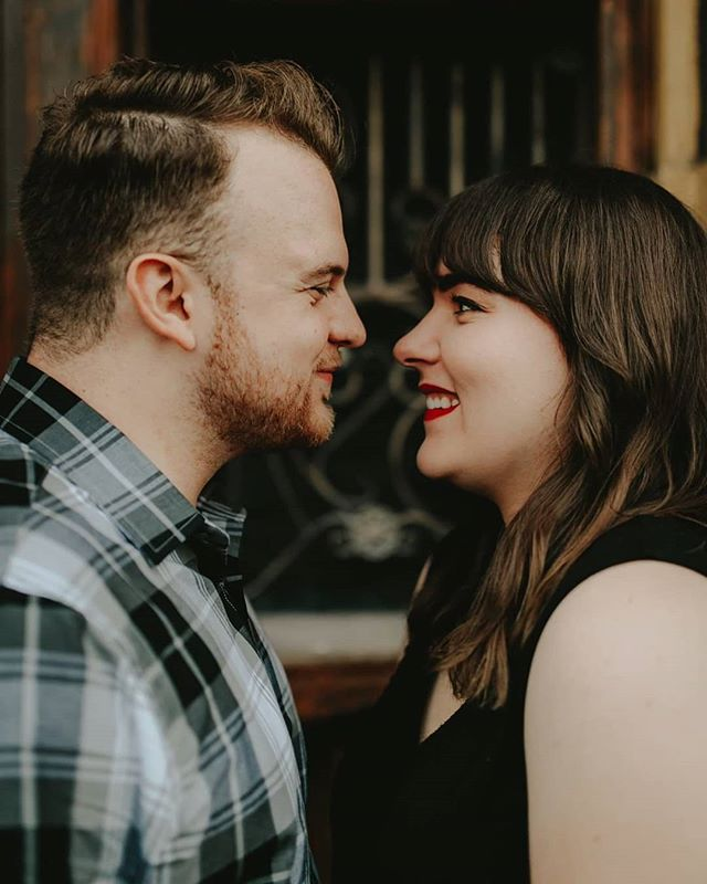 When it's late, but you HAVE to post these sneak peeks because you just had the best time with your clients in West Bottoms and the way they look at each other is priceless.🥰😍🥳