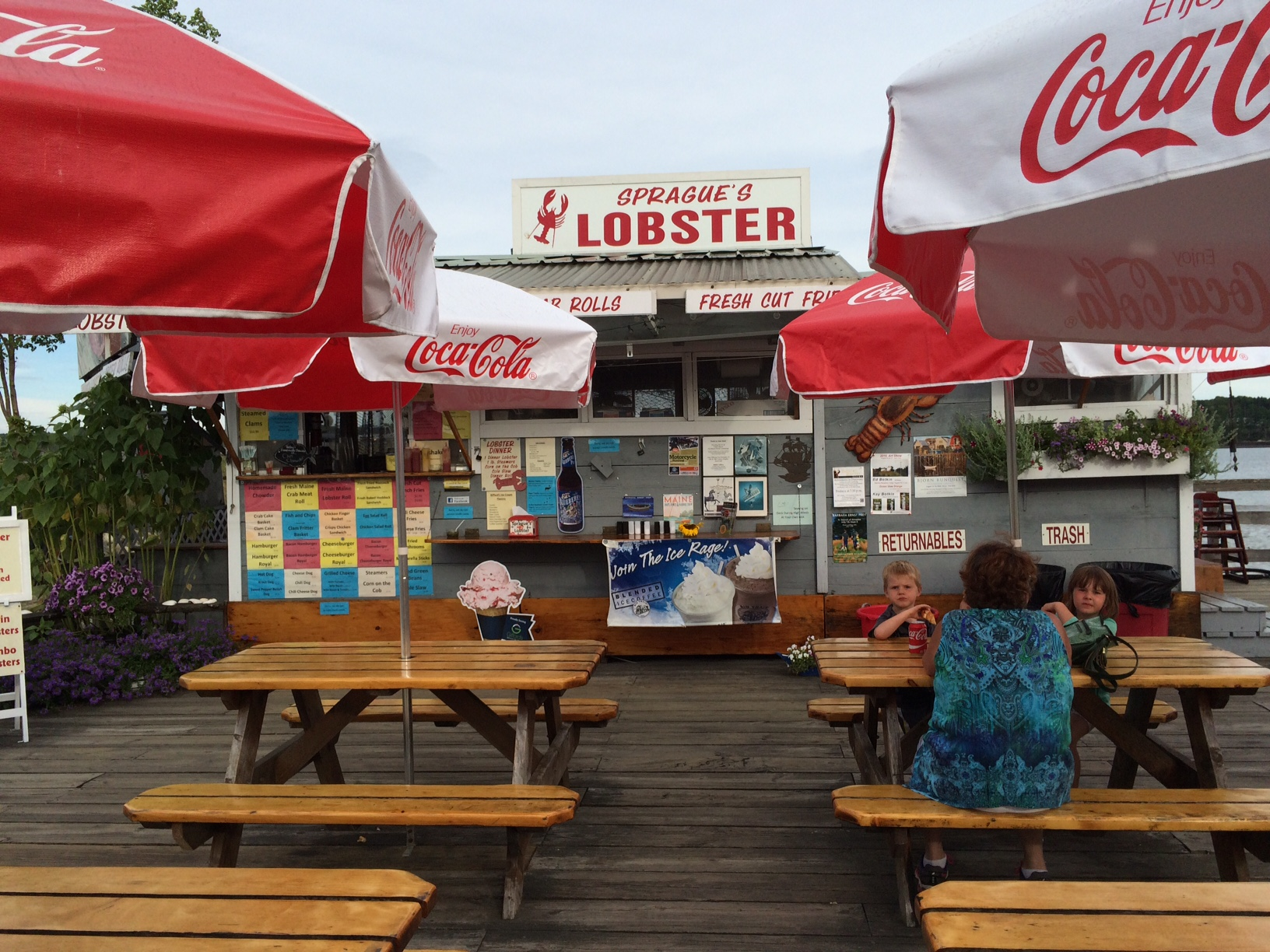 Sprague's Lobster, 22 Main St. (Creamery Pier)