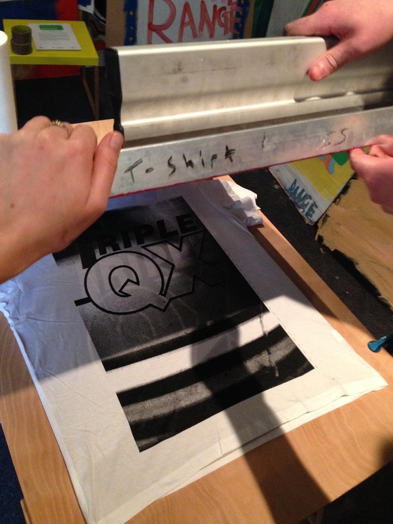 Screen Printing with Luke Overin