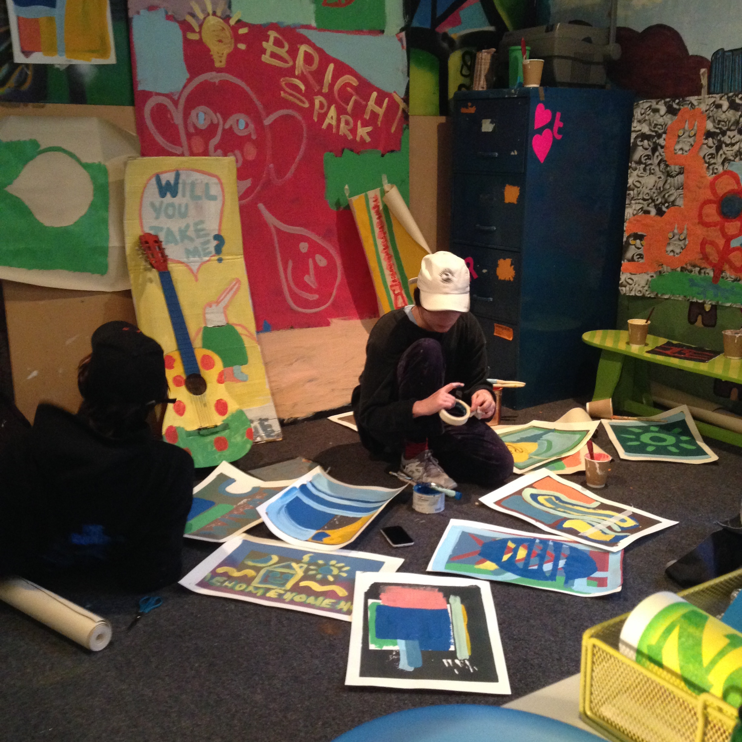 Camberwell School of Arts Painting students
