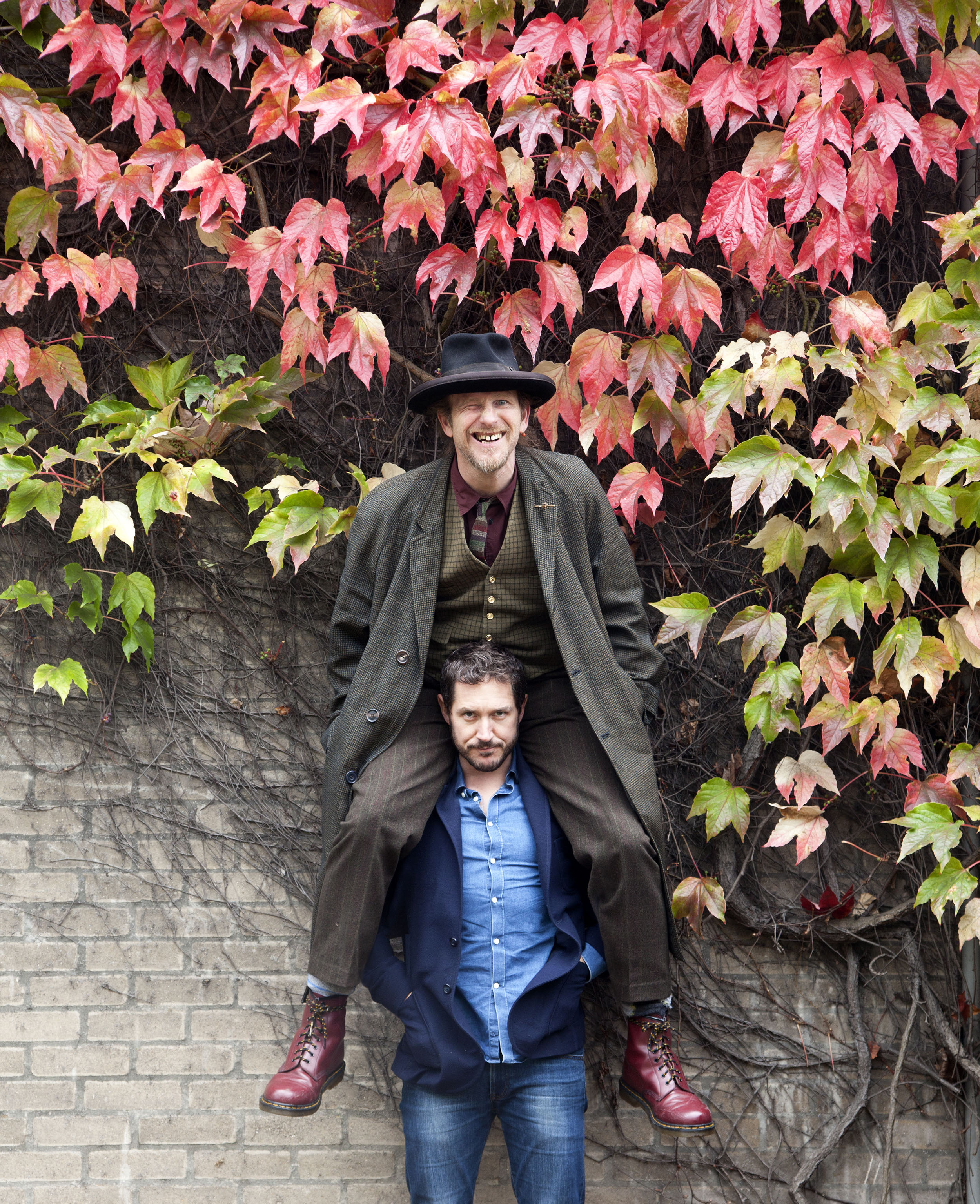 Paul Kaye and Bertie Carvel
