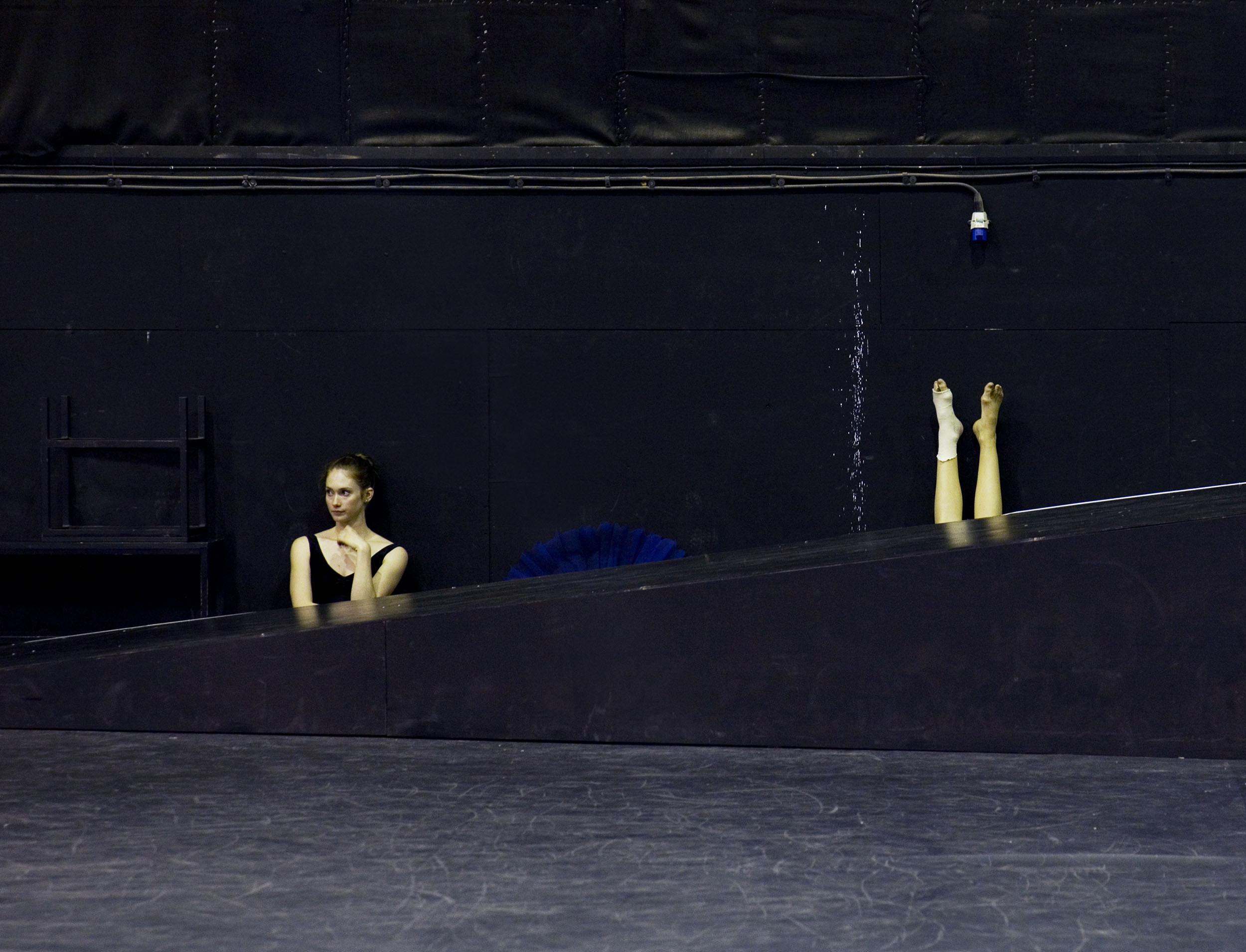 Royal Ballet rehersal
