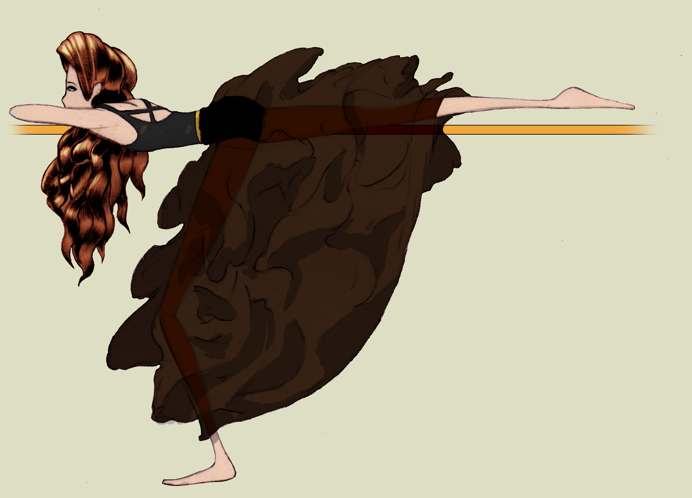 One of our custom barre illustrations for getting a fab booty workout Illustration by: Victor Hernandez