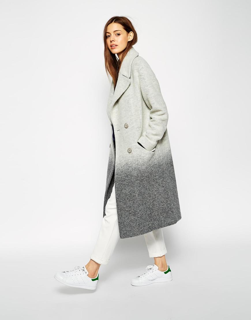 Asos Ombre Coat
