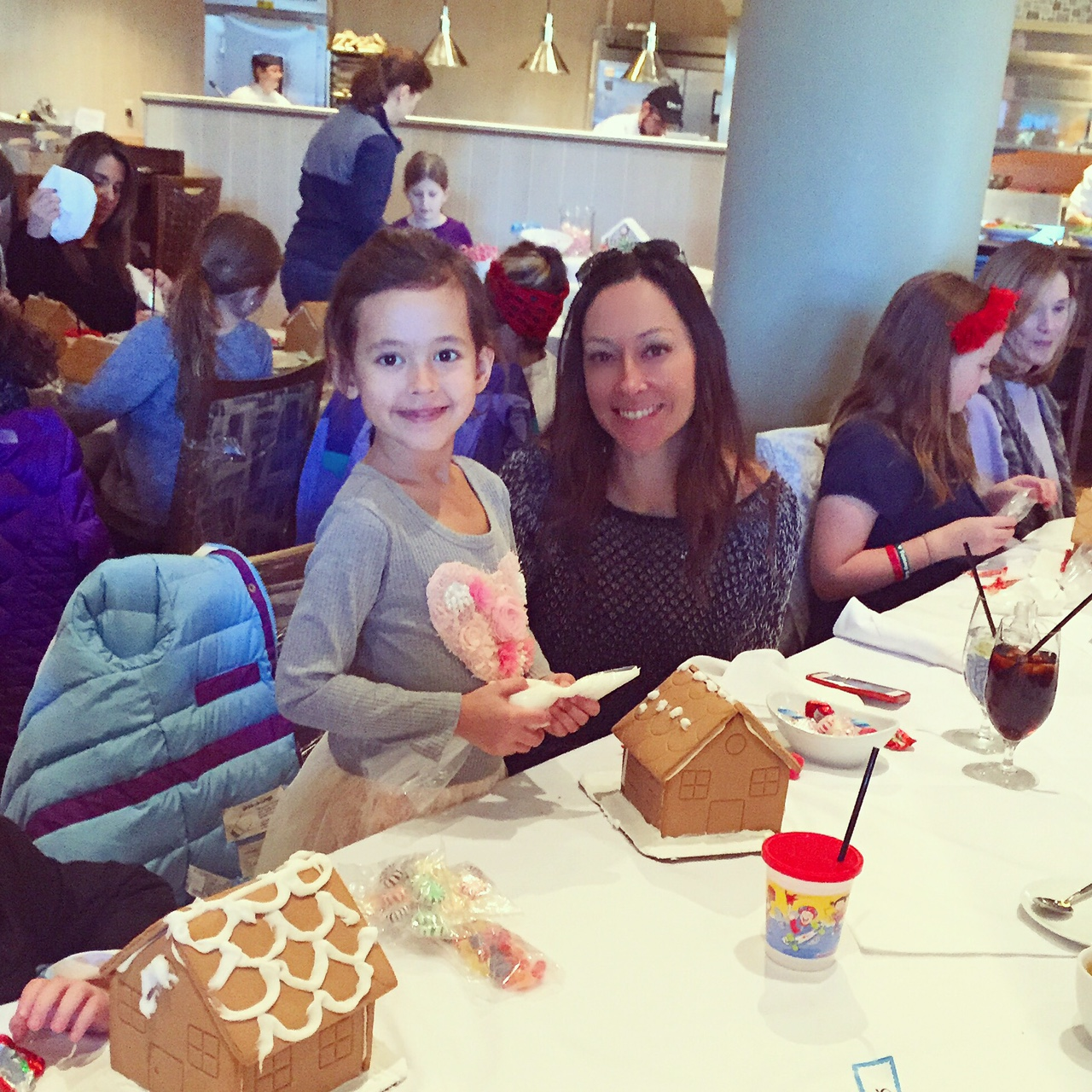 Jessica with her daughter, Chloe