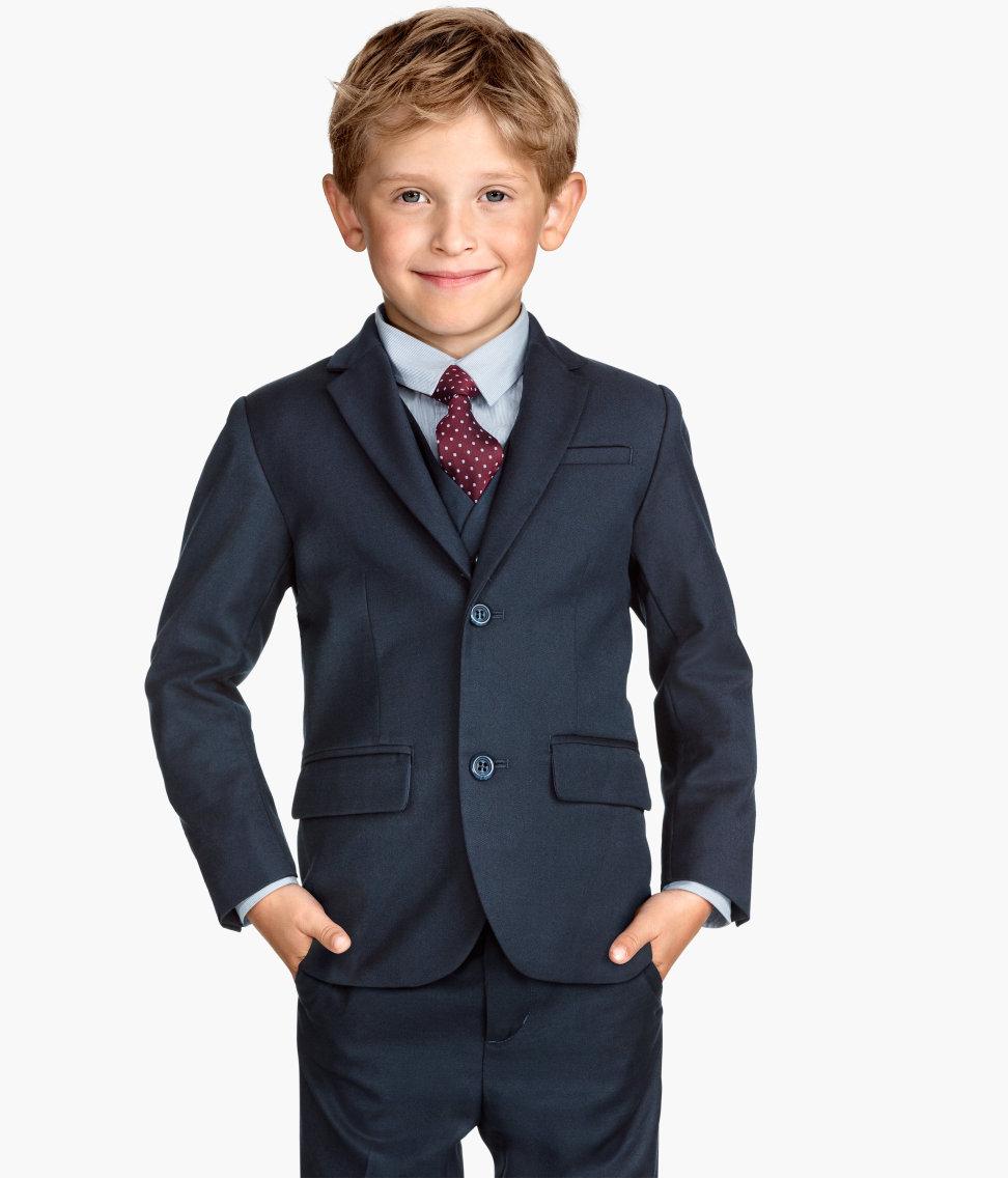 Navy Blue Suit Jacket