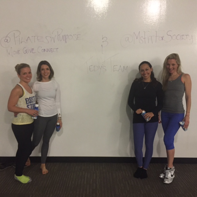 Thank you ladies for a fun, sweaty time!