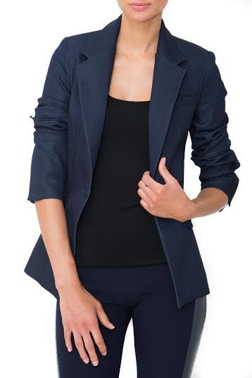 Daniela Corte Denim Rocker Jacket