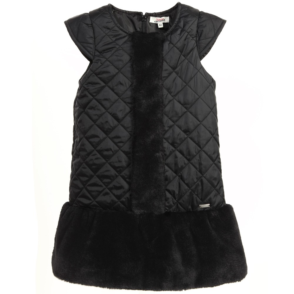 junior-gaultier-black-quilted-dress-with-synthetic-fur-skirt-107360-d8548be7c065c4f32c5d0fa121b1bb85e67292e9