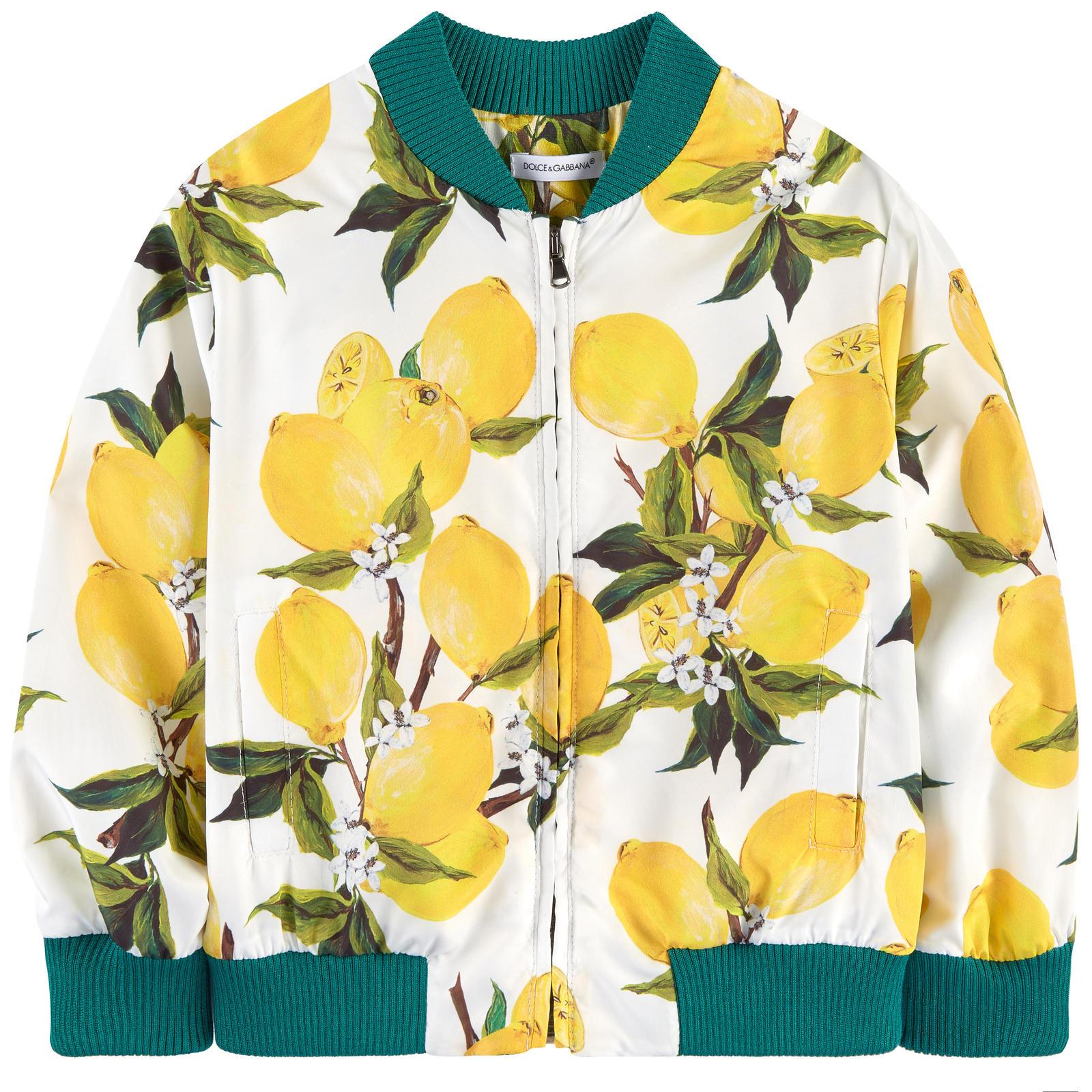 Dolce & Gabbana Lemon Print Jacket