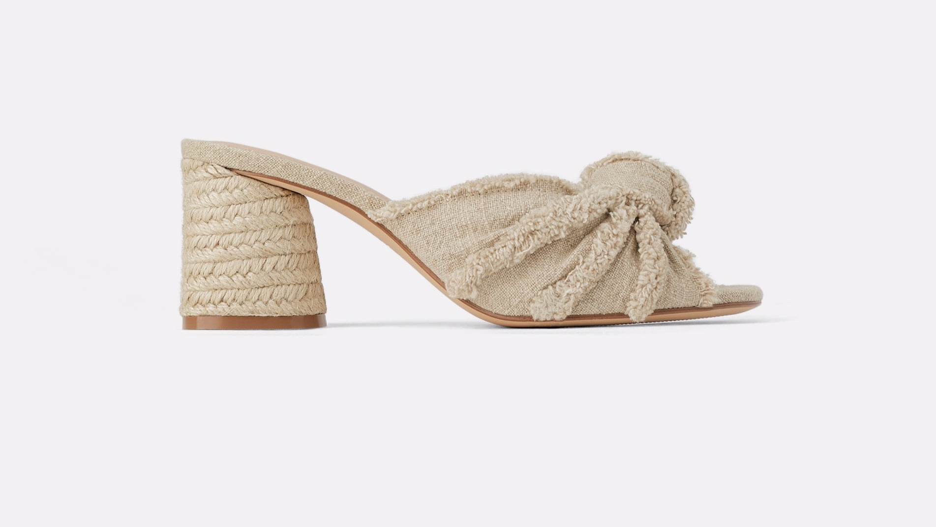 Zara knotted mules
