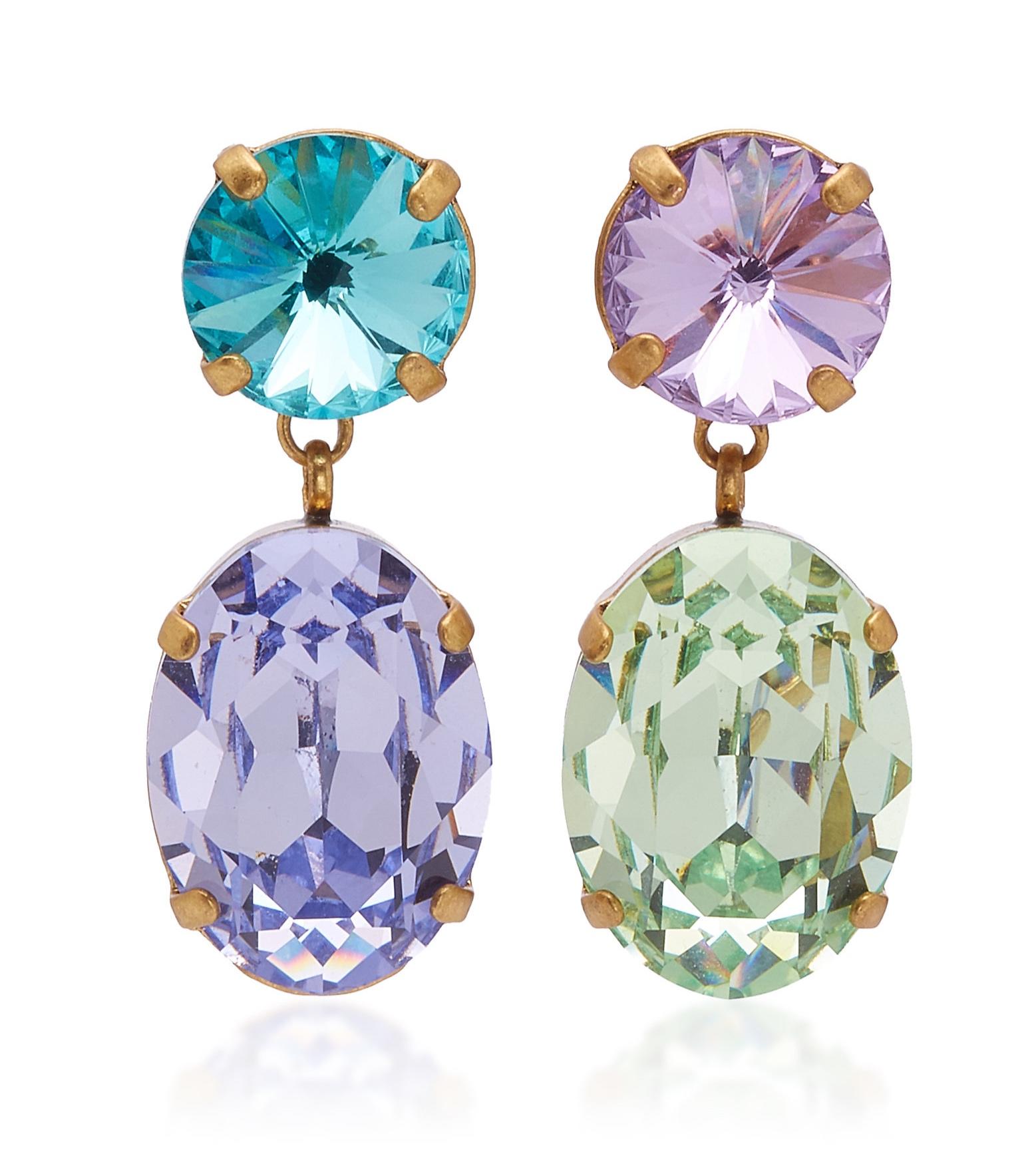Roxanne Assouline Crystal Earrings
