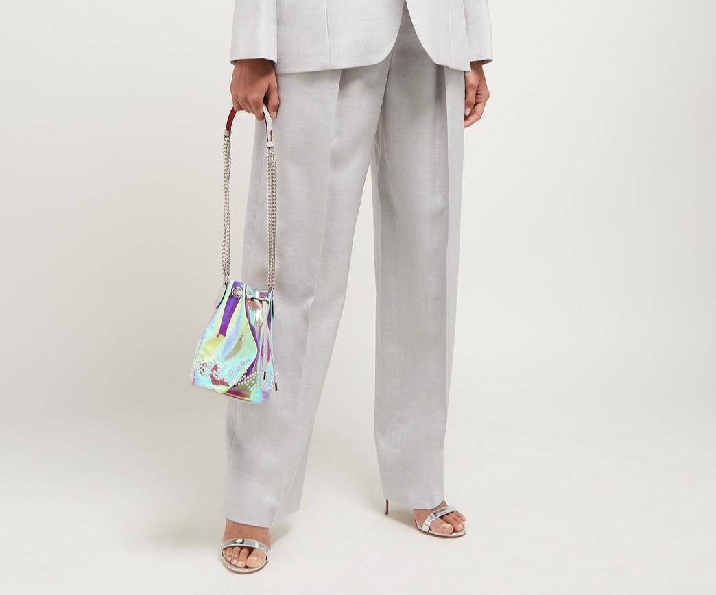 Christian Louboutin Marie Jane PVC Bucket Bag