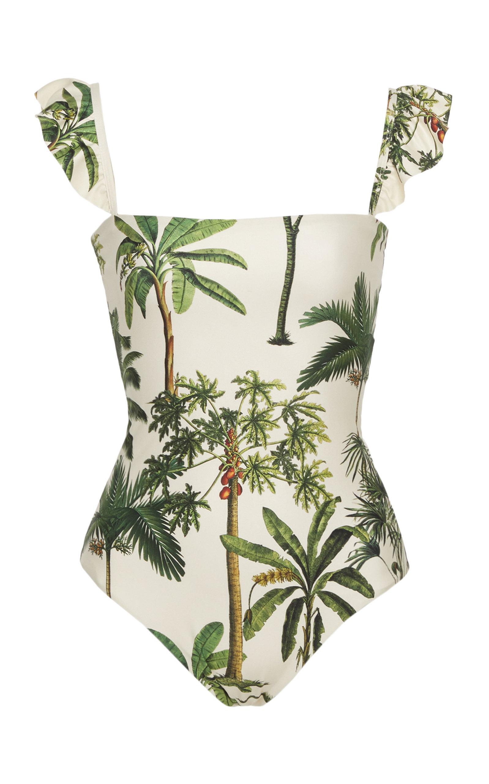 Agua Bendita Nativa Palm Tree swimsuit