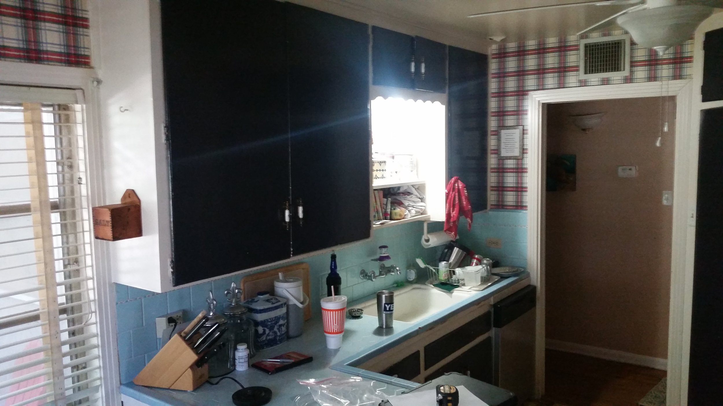 Kitchen Before & After -