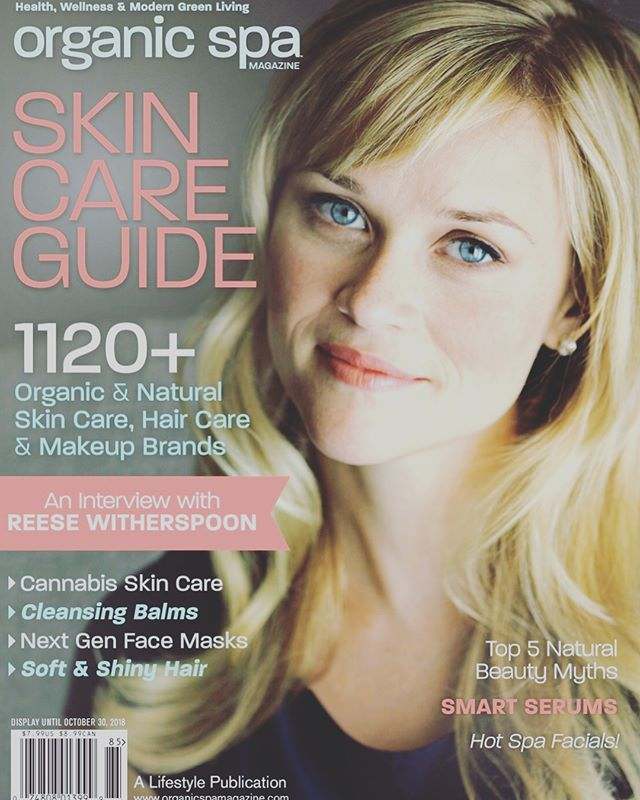 On Newsstands Now: Organic Spa Magazine Skincare Guide with the fabulous Reese Witherspoon on the cover. ✨Check out my favorite beauty tool✨✨. The multi purpose at-home reflexology tool used in Dien Chan which is great for sagging skin, lymphatic drainage and scar reduction. 👸🏾👸🏽👸🏼.
