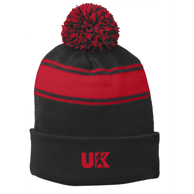 UpperKuts Boxing Fall Pom Pom Hat