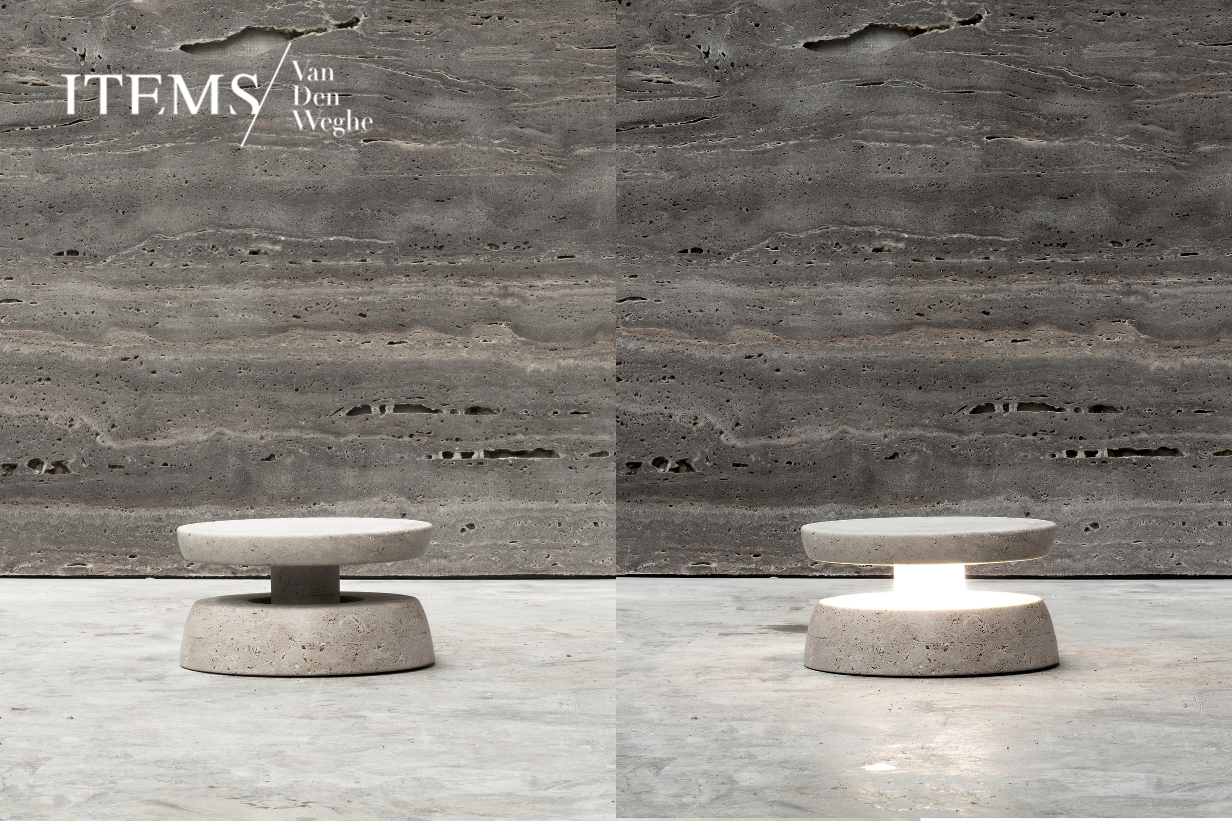 "COLLECTION PRIMITIF _ ""HEEL"" / TABLE LAMP PRODUCED IN BELGIUM BY THE CRAFTMEN OF VAN DEN WEGHE / ITEMS _ CREDITS PHOTOS : ANNICK VERNIMMEN _ AYANTS DROITS PHOTOS : FRANCESCO BALZANO _ IN COLLABORATION WITH VALERIANE LAZARD"