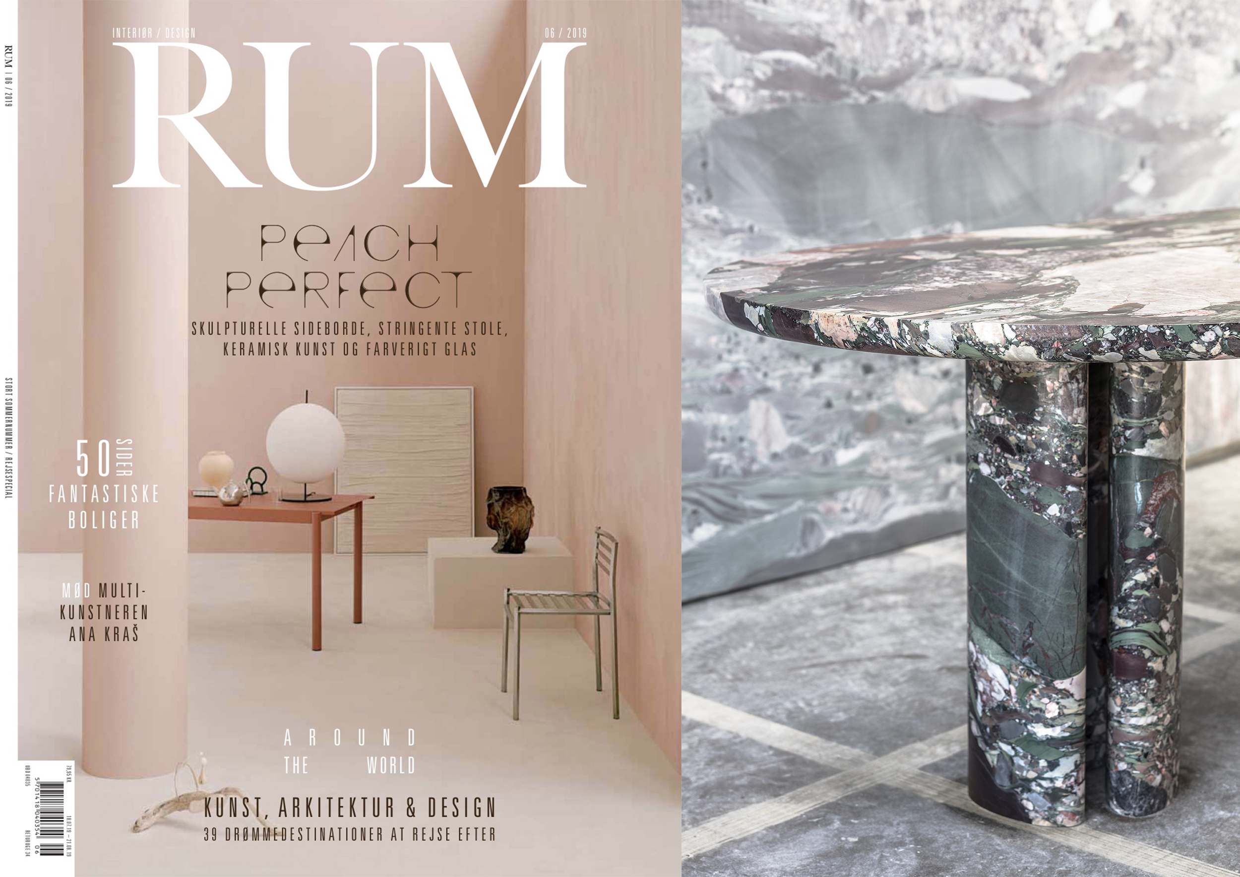 "COLLECTION DOLCE _ DINING TABLE IN "" RUM INTERNATIONAL "" _ JUNE 18"