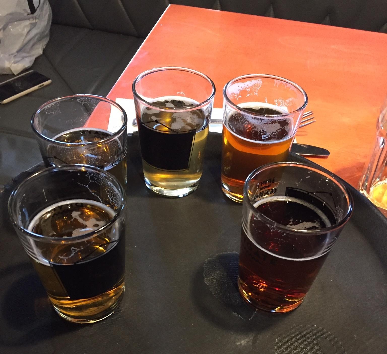 Sampling of the beer