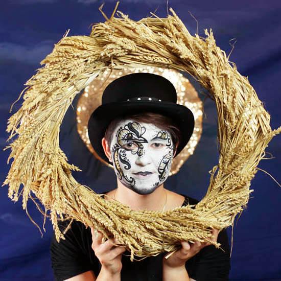 Molly Dancer Face Art