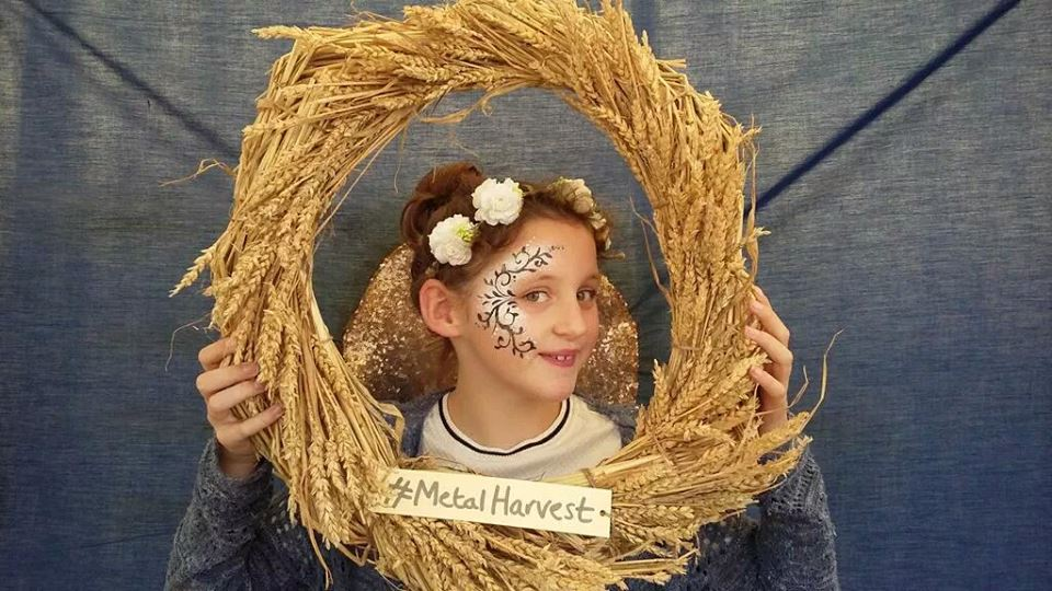 Harvest Festival Face