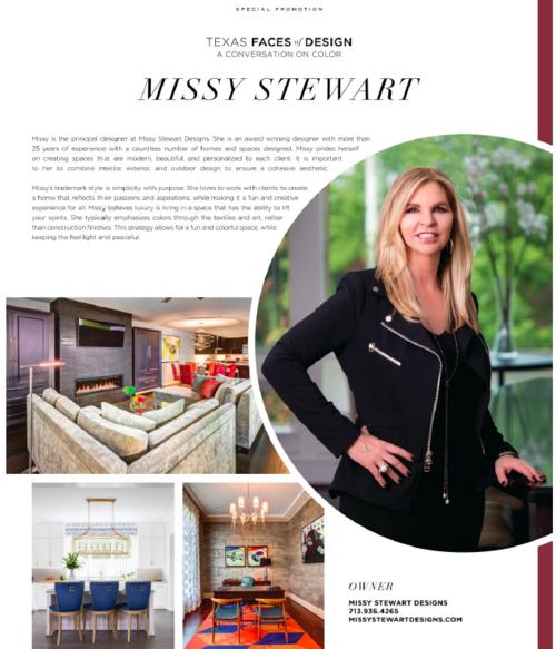 Luxe Life Magazine Missy Stewart Designs