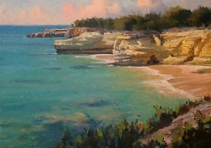 "West End Point, Anguilla  - 10""x 13.5"""