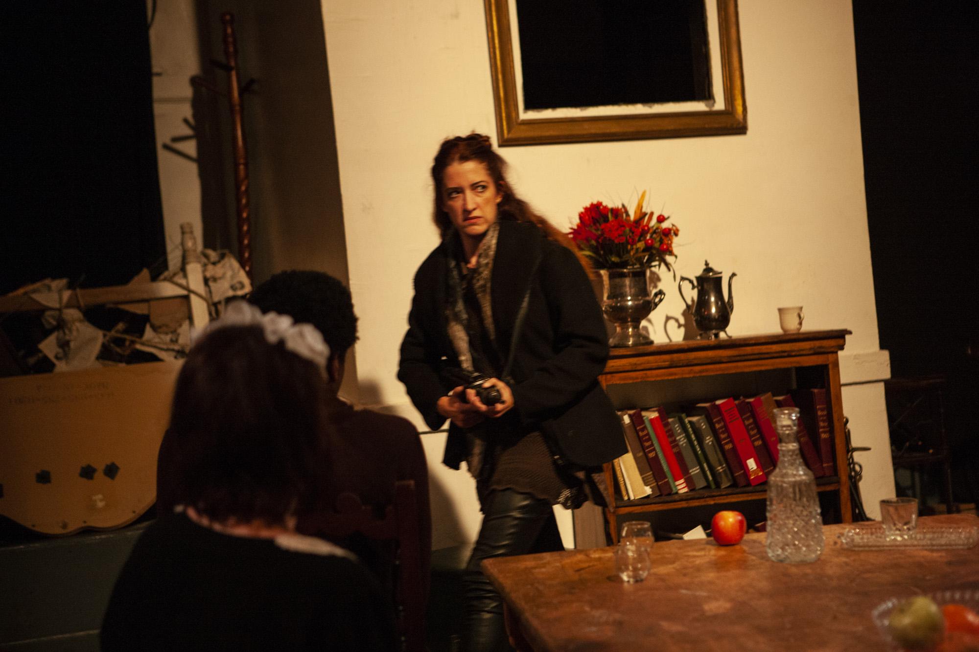 """Maria Stephens as Phoebe in """"Phoebe in Winter."""""""