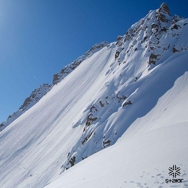 Taking A Bite Out of Swiss Cheese / Skier: @whitboucher throws down on his first day in AK 📷 @reggiecrist #stellaralaska @stellaradventuretravel