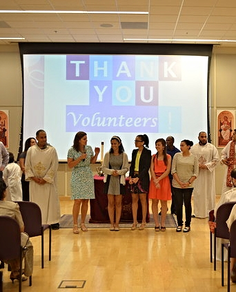 Volunteering helps me to feel like I'm invested in my community, and that my community is invested in me.