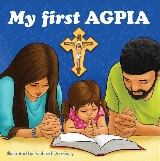 "Book recommendation - My first Agpia teaches your children to pray like King David himself.""And these words which I command you today shall be in your heart. You shall teach them diligently to your children, and shall talk of them when you sit in your house, when you walk by the way, when you lie down, and when you rise up."" Deuteronomy 6:6-7Recommended ages 3 - 7This is"