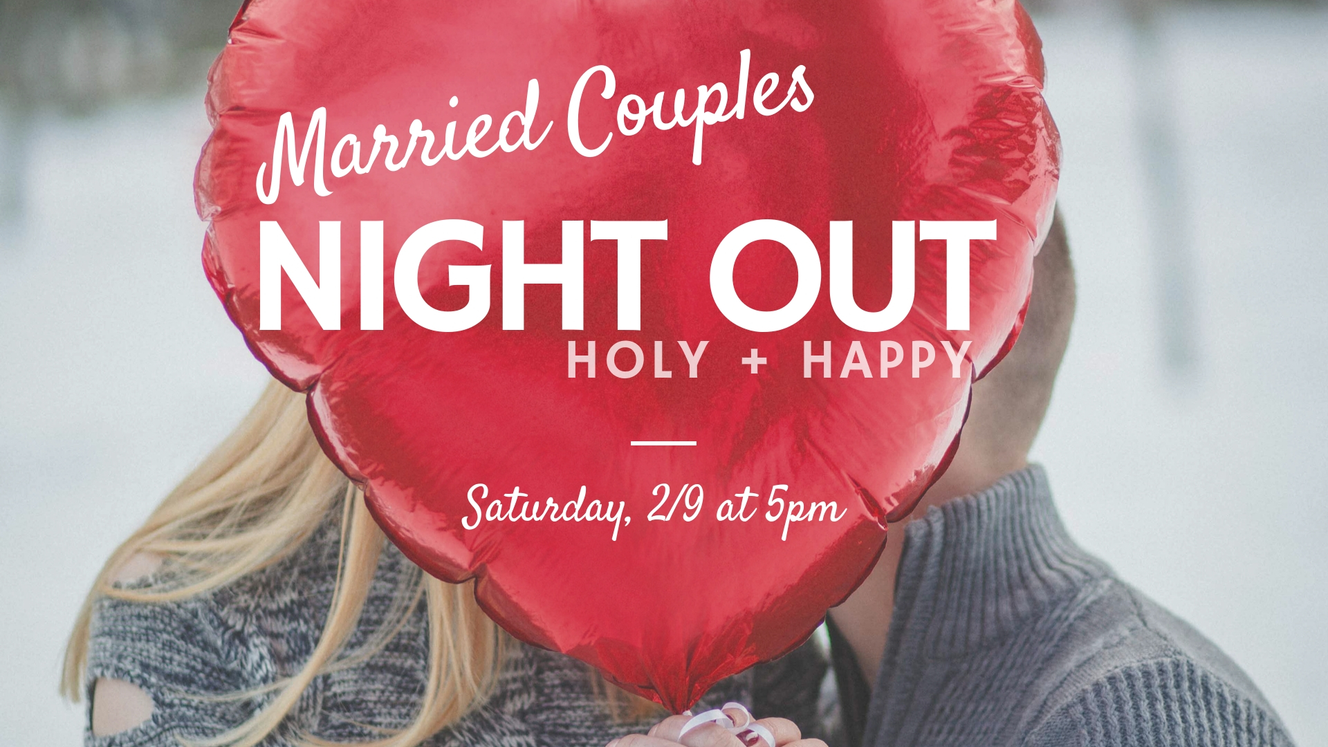 THE BEST THING YOU CAN DO FOR YOUR KIDS IS INVEST IN YOUR MARRIAGE - Who's ready for some fun! On Saturday, Feb 9 we are having our Married Couples Night Out event. It's a one-night event that is going to be a lot of fun, even fun enough to invite your friends and neighbors to. No. Seriously. And guys we promise we are not going to beat you up, promise.Our goal is simply this—to help you and your spouse connect. It's going to be a great night for married couples!You may be wondering who is this for? Is it for newly marrieds, couples with kids, couples without kids, empty nesters, couples in crisis? This event is for every married couple, that's who it's for. Can't wait to see you there.