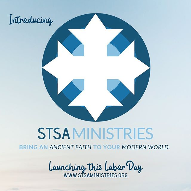 STSA Ministries is being established in September 2019 with the goal of encouraging and equipping local Orthodox Church leaders with resources and tools you can use to bring an ancient faith to your modern world. . Things are kicking off this Labor Day weekend with an STSA Open house. See you there! . Visit stsaministries.org for all the details. #linkinbio