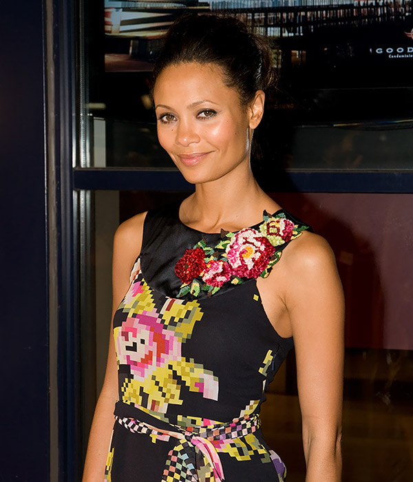 Actress Thandie Newton