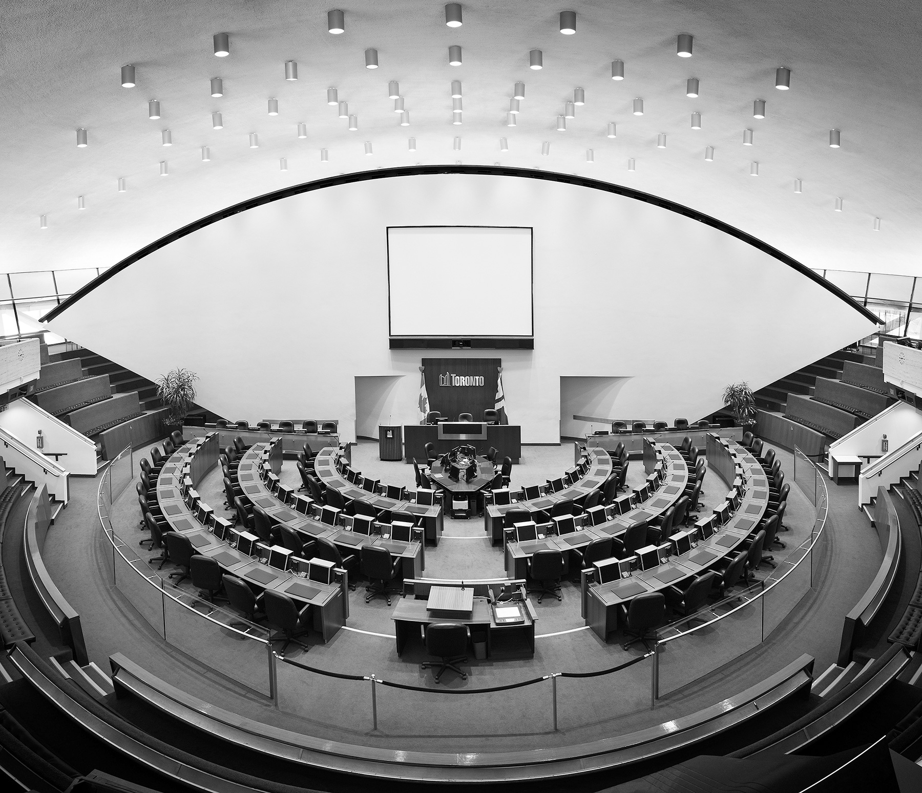 Toronto City Hall Council Chamber