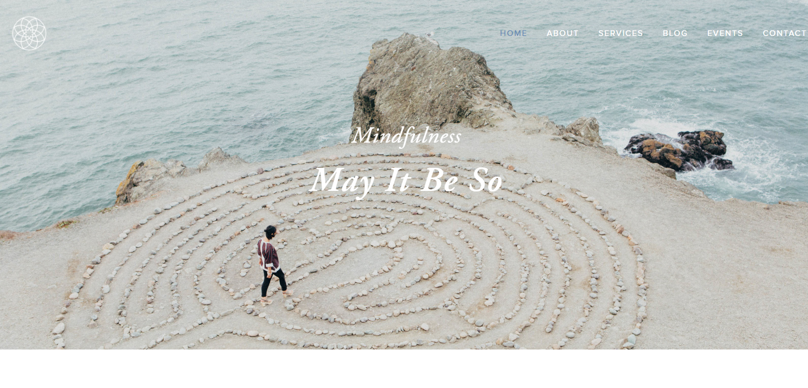 MAY IT BE SO - The woman behind May It Be So had never had a website before so this new design was made to reflect her philosophy and visually represent mindful practice.Services provided - responsive website design, image acquisition, e-commerce