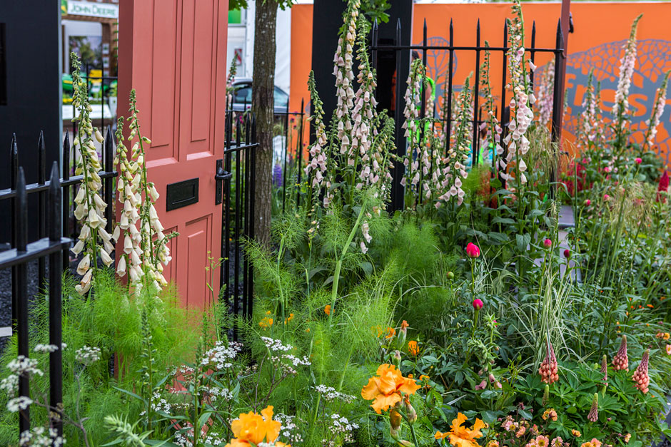 Modern Slavery Garden  © The Royal Horticultural Society 2016