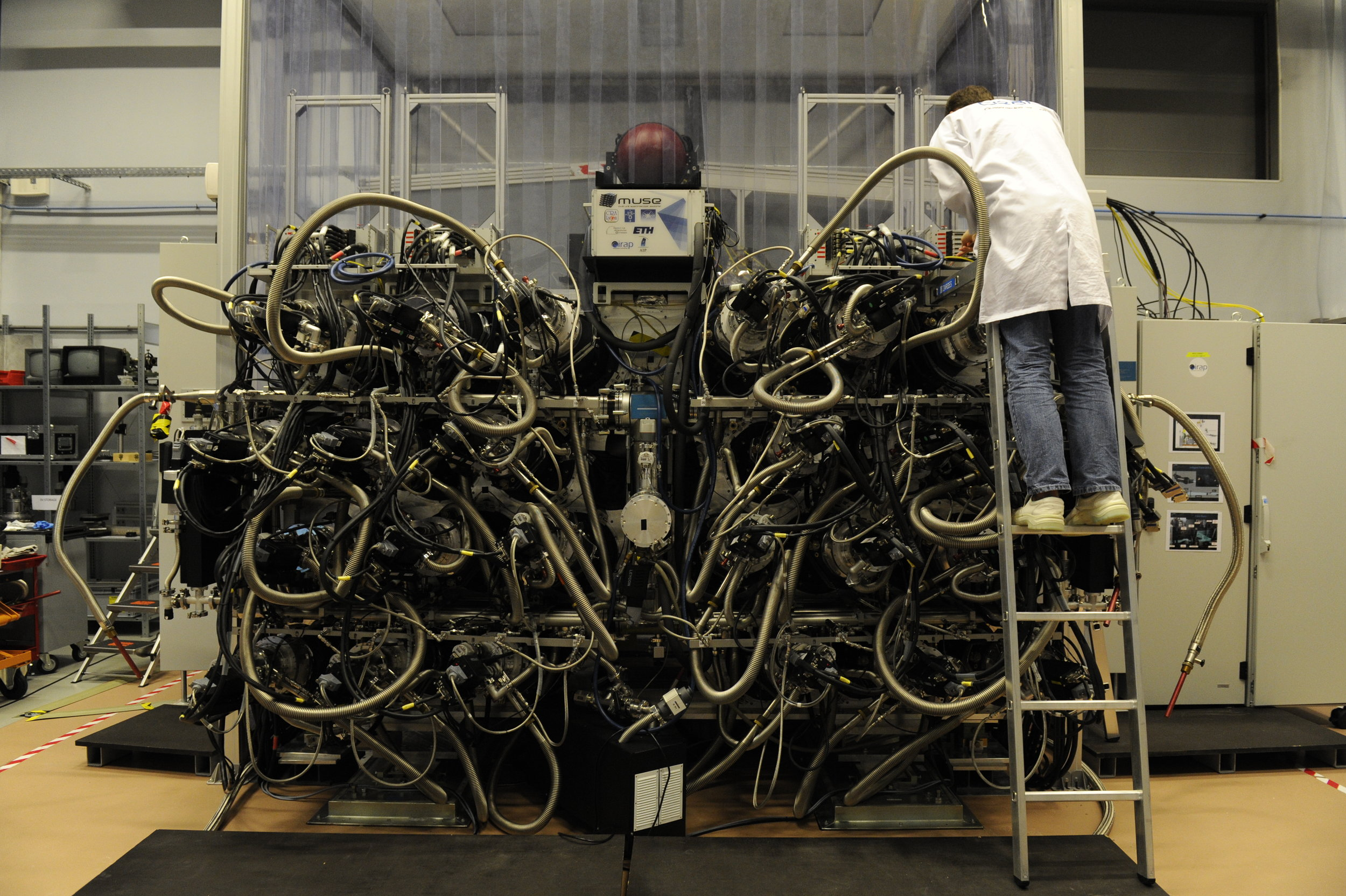 MUSE. It looks like an espresso machine from hell, right?  Credit:  R  . Bacon & the  MUSE consortium