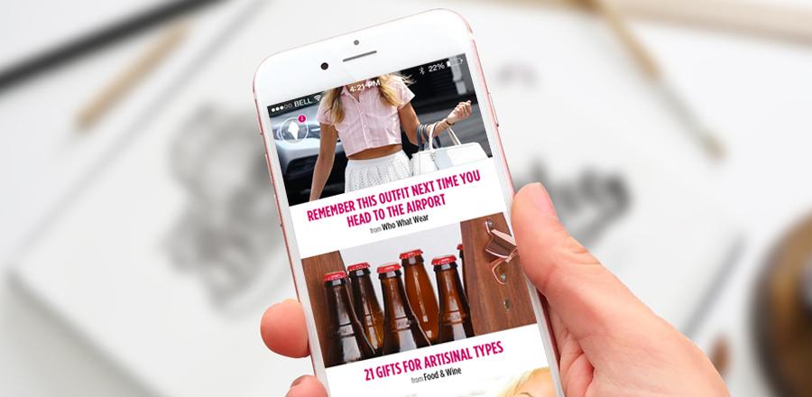 Shopfeed iOS App