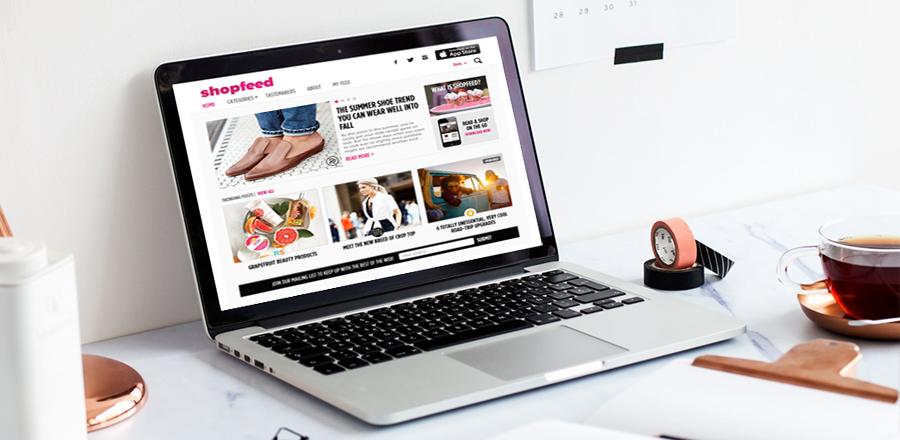 Shopfeed Web App