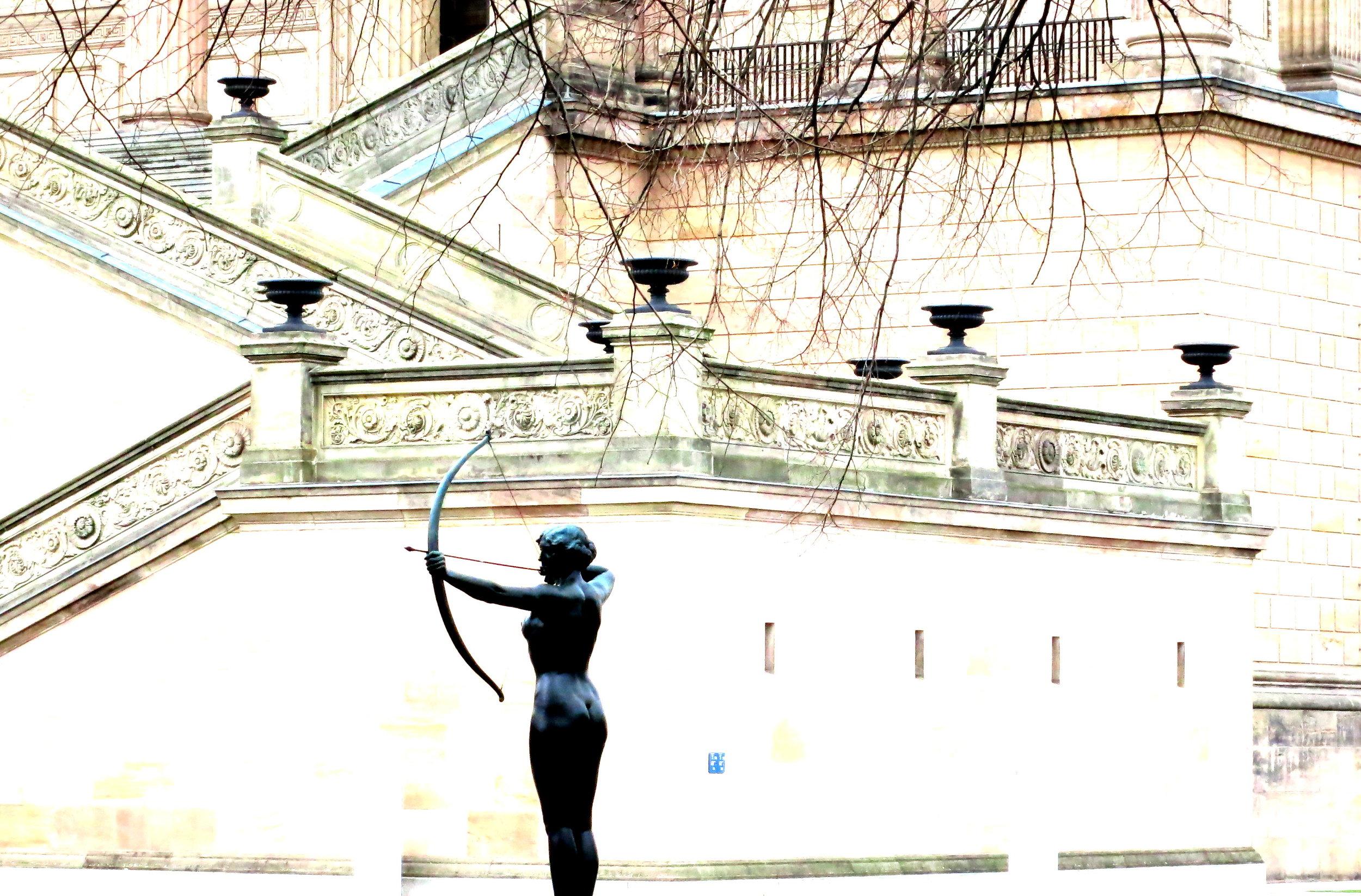 shooting arrows of desire, berlin © colin goedecke