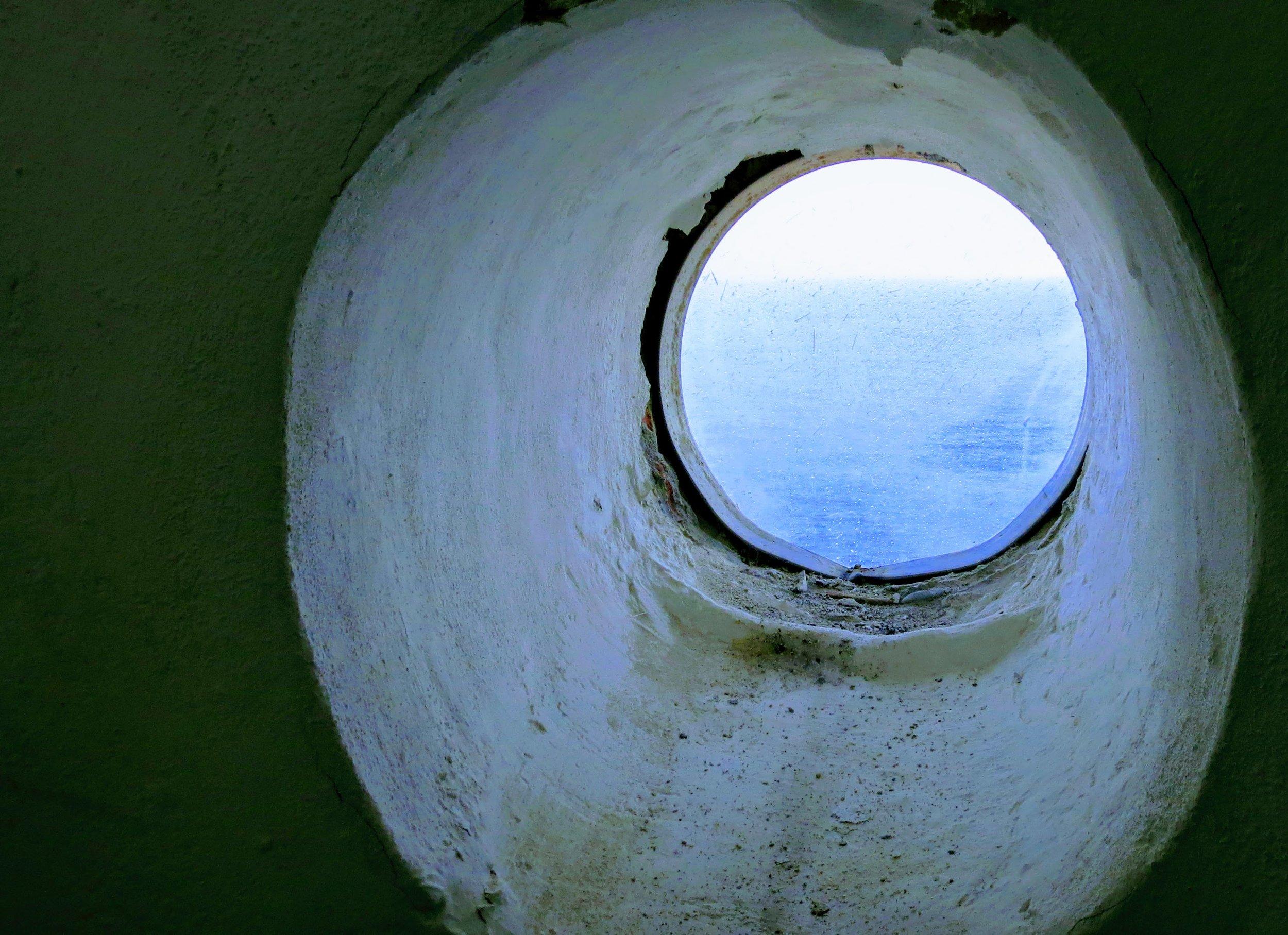 keeping an eye on the sea, kea, greece ©  colin goedecke