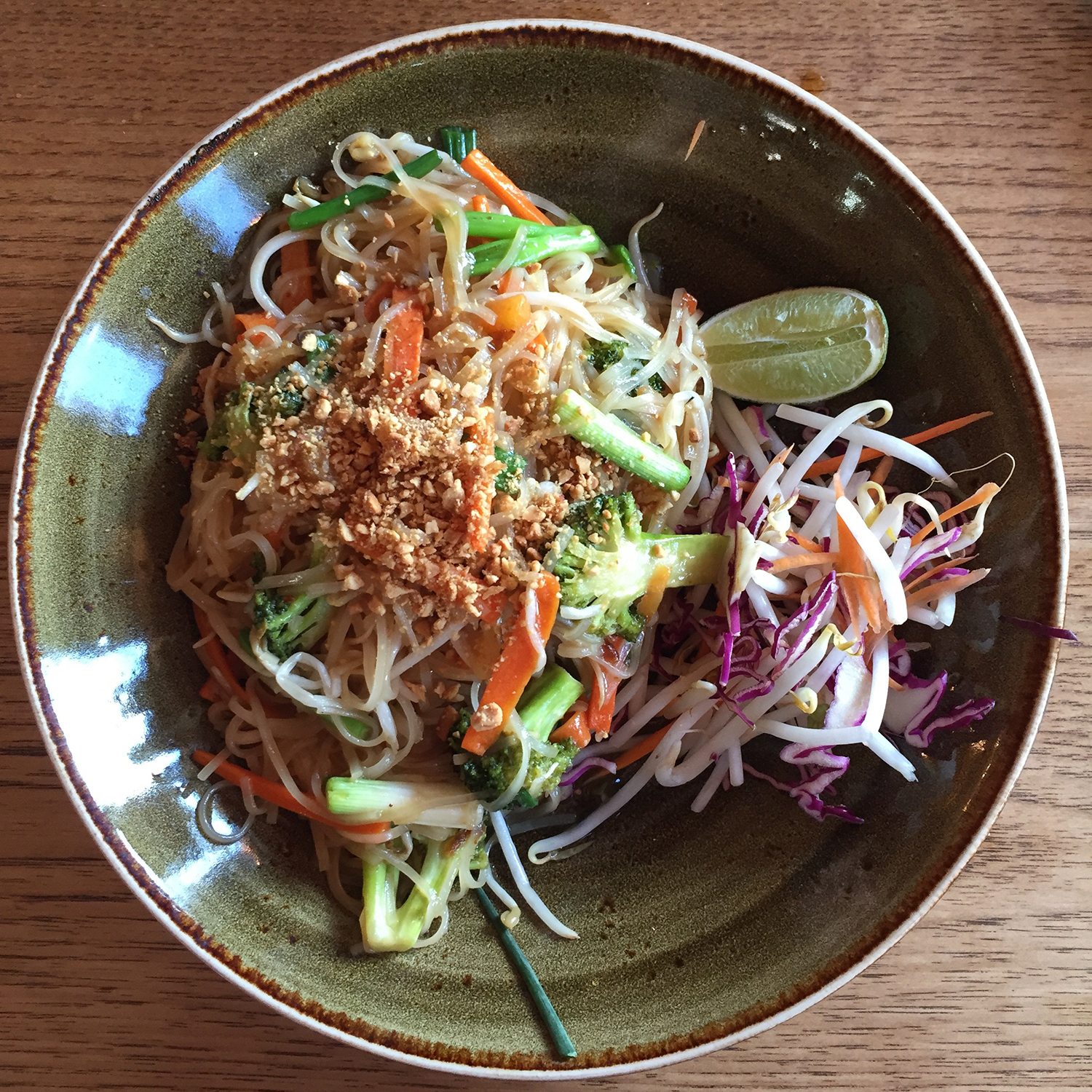 Pad Thai at The Green Elephant in Portsmouth, NH