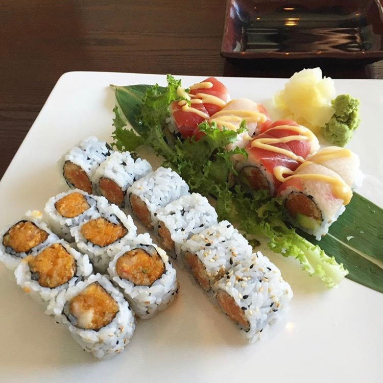 Sushi at Orient Pearl in Epping, NH