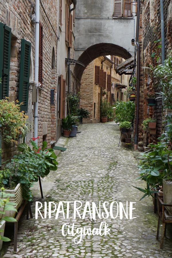 Ripatransone, Le Marche, Italië