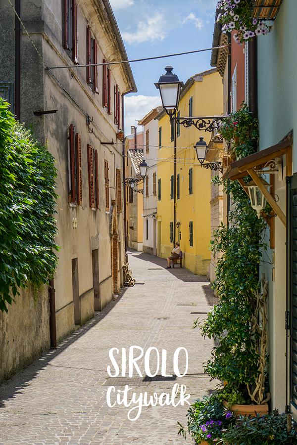 Sirolo, Le Marche, Italië