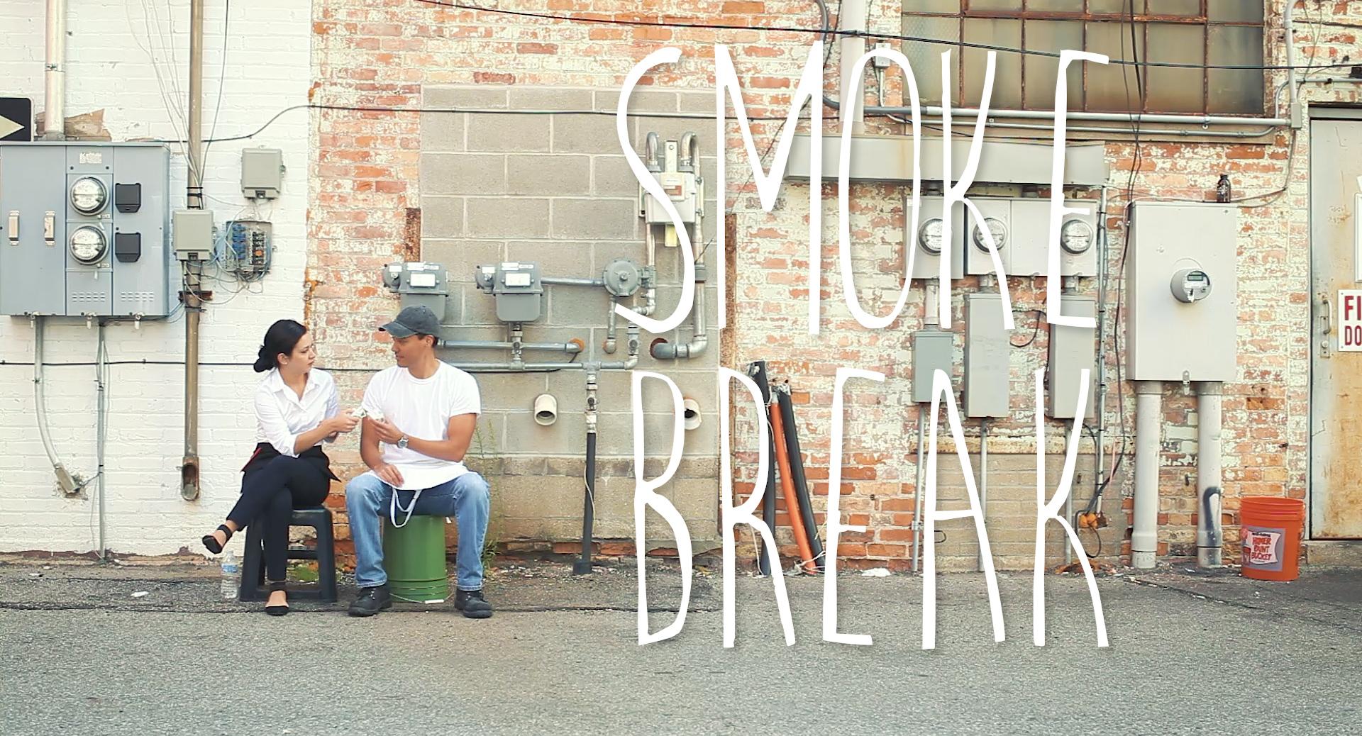 """Newsletter 8 - OUR NEW SHORT """"Smoke Break"""""""