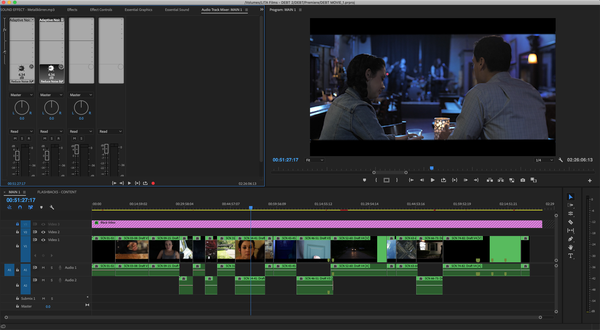Screen Shot - First Rough Cut Timeline.jpg