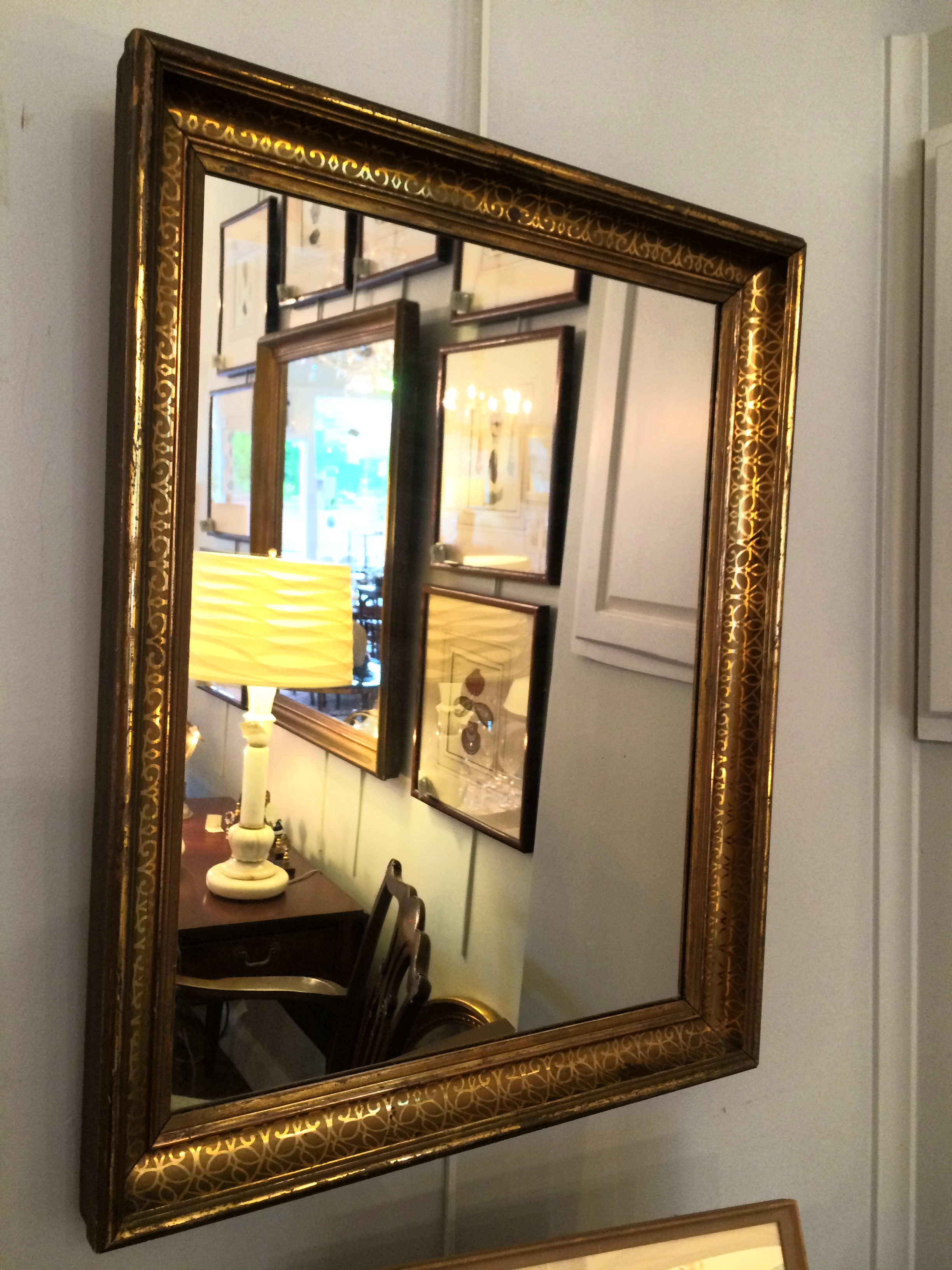 "Antique Giltwood Frame, 22.5"" x 28.5"""